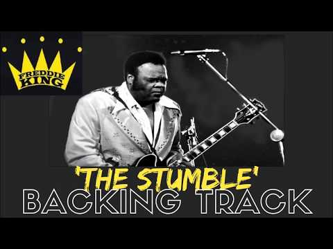 Freddie King - 'The Stumble' Guitar Backing Track