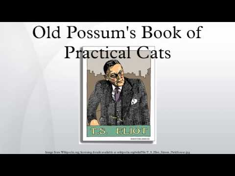 Who Wrote Old Possum Book Of Practical Cats