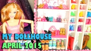 By Request: A Quick And Small Look At My Dollhouse April 2015