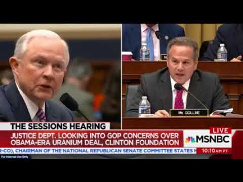 Rep. Cicilline Questions Attorney General Jeff Sessions