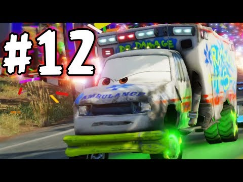 CARS 3 - The Videogame - Part 12 - The RamBulance!