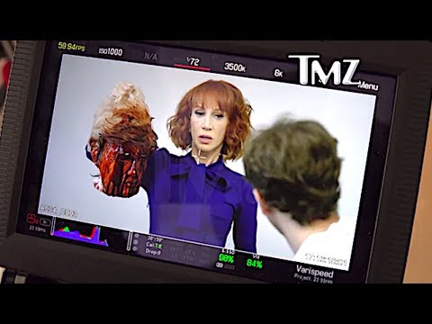 Kathy Griffin Holds Beheaded Donald Trump Effigy In Hollywood Photoshoot REACTION