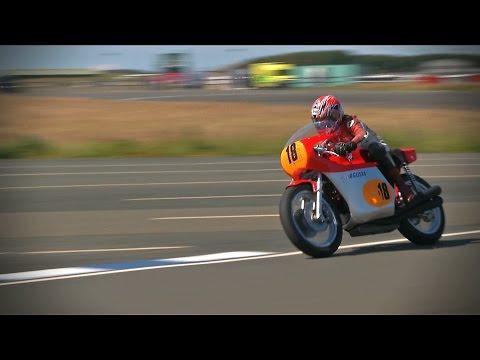 MV Agusta GP 500 Replica - Jurby Motodrome Test - Friday July 3rd 2015
