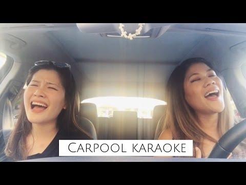 超歡樂!跟姊姊一起在車上唱歌吧!|Carpool karaoke with my sister