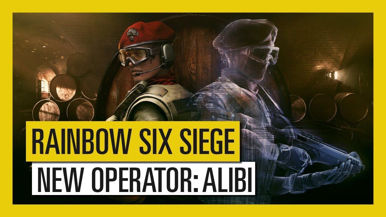 Tom Clancy's Rainbow Six Siege – Para Bellum : Alibi Operator Videosu