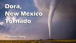 Incredible tornado near Dora, New Mexico - 29 May, 2015