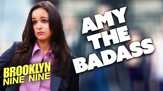 AMY THE BADASS | Brooklyn Nine-Nine | Comedy Bites