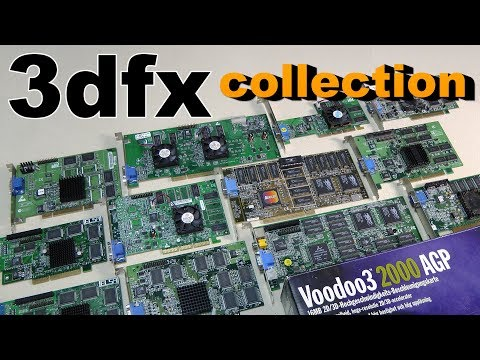 3Dfx voodoo 1/2/3/4/5 Drivers Windows
