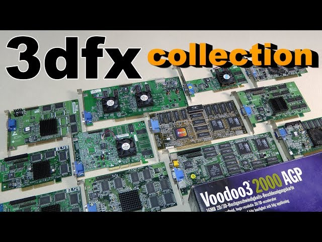 3Dfx voodoo 1/2/3/4/5 Driver Windows