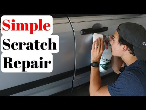 Remove 100% of Car Scratches in 30 Seconds or Less | A little secret.