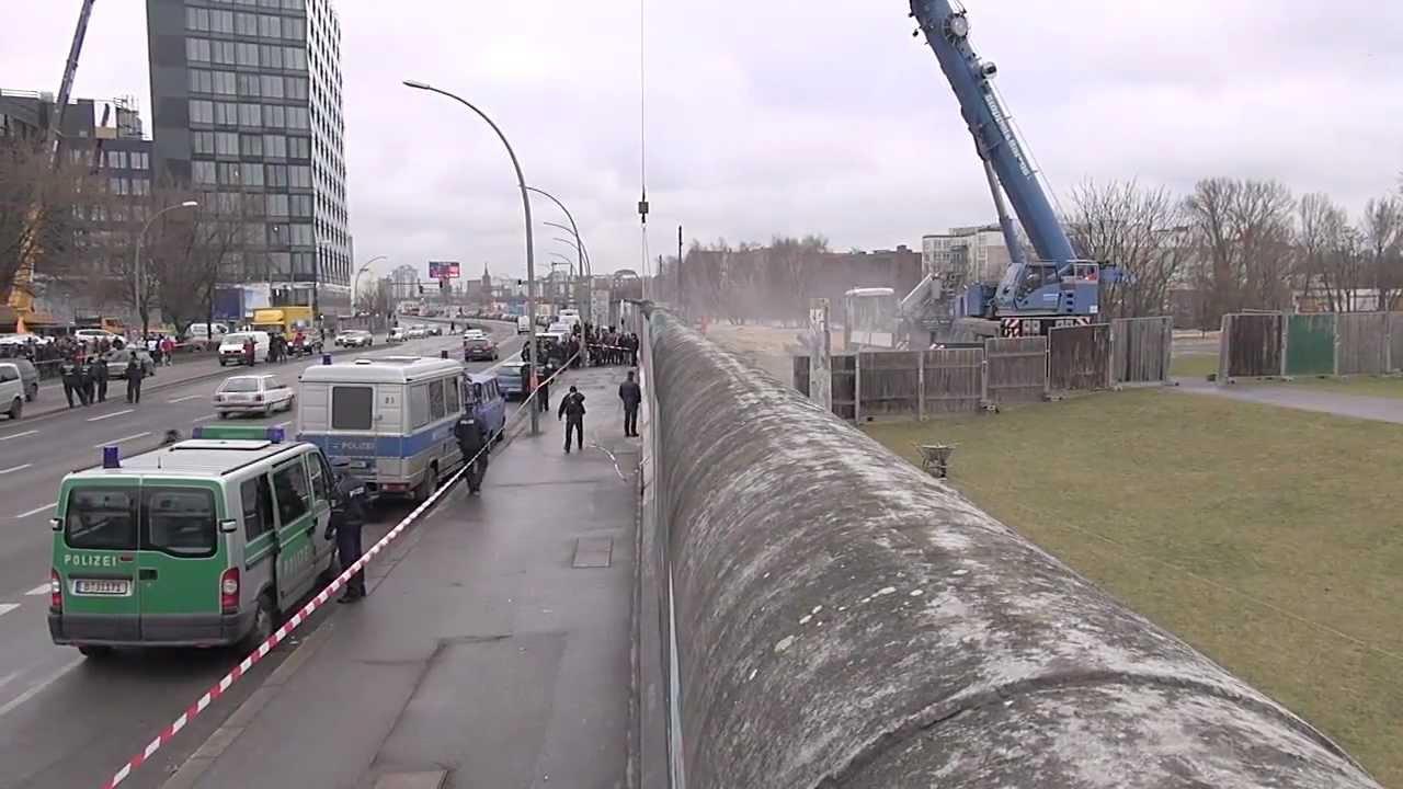 Berliner Mauer Bauzeit