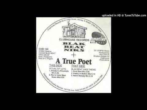 Blak Beat Niks  Ritual Of Love Ron's Vocal Beat Down Mix 1992