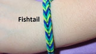 How to Make the Fishtail Bracelet on the Rainbow Loom