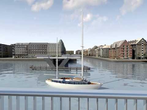 COPENHAGEN INDERHAVNEN BRIDGE 2013