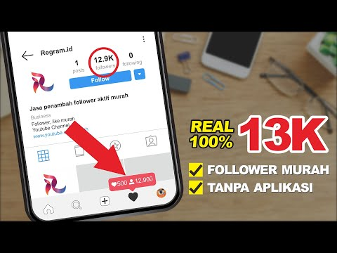 REAL! CARA MENAMBAH FOLLOWER INSTAGRAM 13K