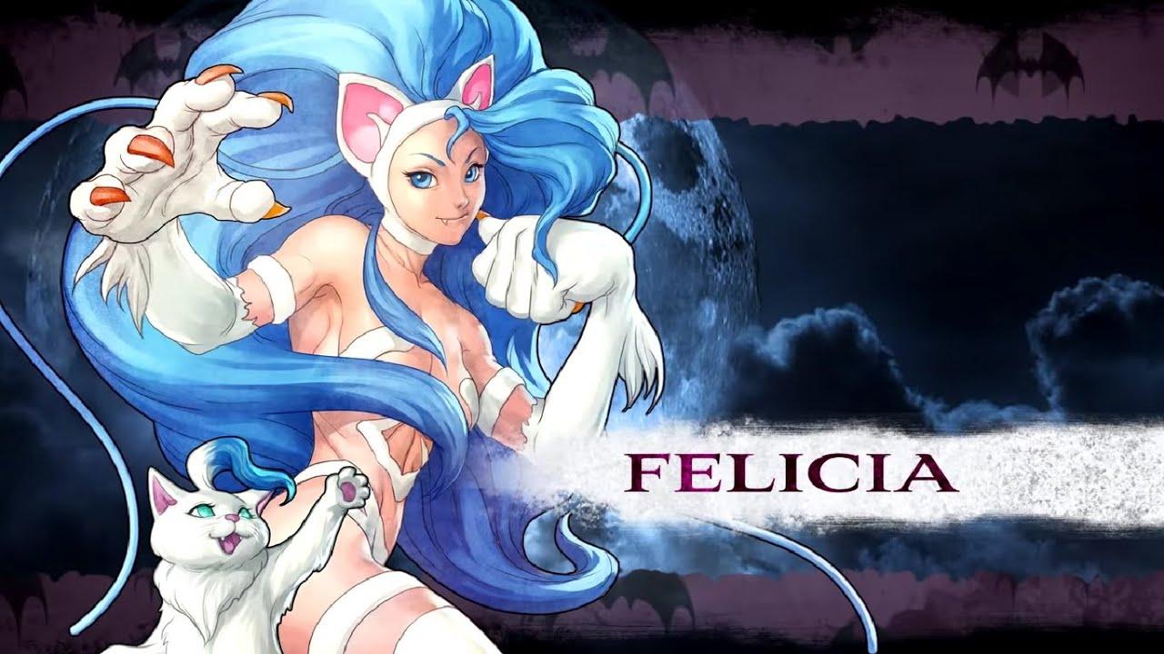 🐾 Night Warriors: Darkstalkers Revenge, Felicia Hardest - YouTube
