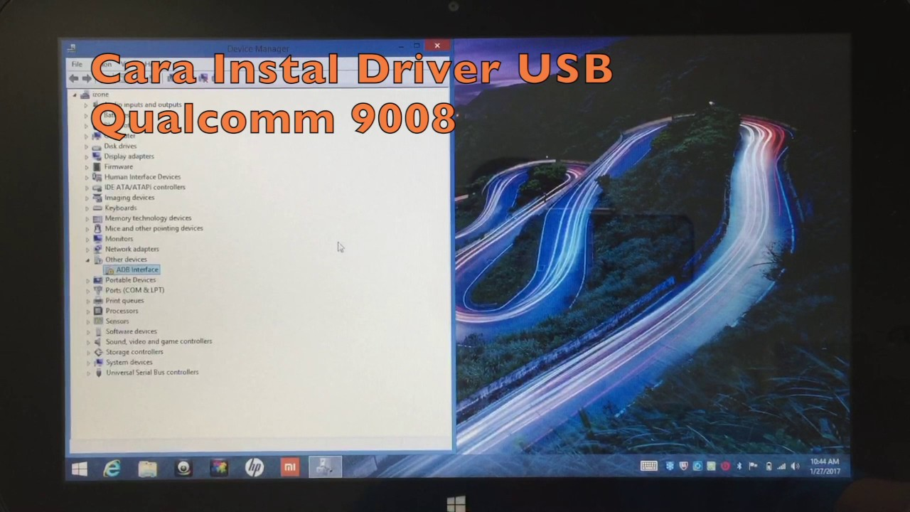 qualcomm usb drivers for 9006 and 9008