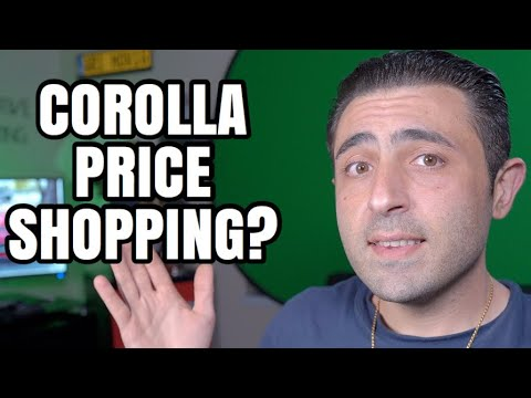 2020 Corolla Price Shoppers MUST Watch This!!!