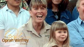 "Steve Irwin's Wife on Falling in Love a Man Named ""Crocodile Hunter"" | The Oprah Winfrey Show | OWN"