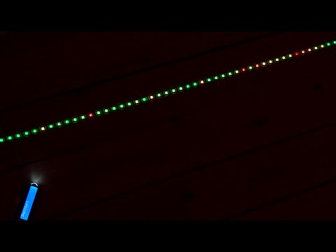 BlinkenSort - Sorting Algorithms on LEDs with ESP8266 and SK6812 or