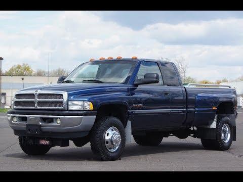 2001 Dodge Cummins >> 2001 Dodge Ram 3500 4x4 SLT Laramie Cummins Turbo Diesel - YouTube