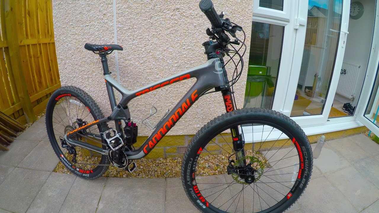 1b490d4ad05 Cannondale Trigger Carbon 2 2016 - YouTube