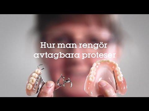 rengöring av tandprotes