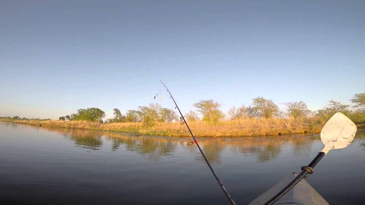 Kayak fishing at mozingo lake maryville missouri allen for Missouri out of state fishing license