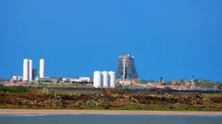 Live! 24/7 SpaceX Boca Chica Starship Construction and Launch Facility LAB CAM
