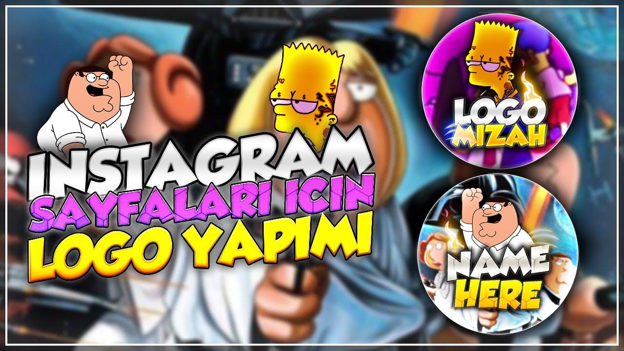 Instagram Sayfaları İçin Logo Yapımı