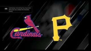 MLB The Show 16 - St. Louis Cardinals vs Pittsburgh Pirates Opening Day (FULL GAME)