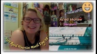 2018 Reaction Month Day 24: As'ad Motawh: Senyum
