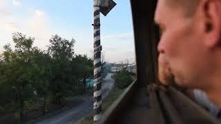 Leaving Mariupol, Ukraine by train