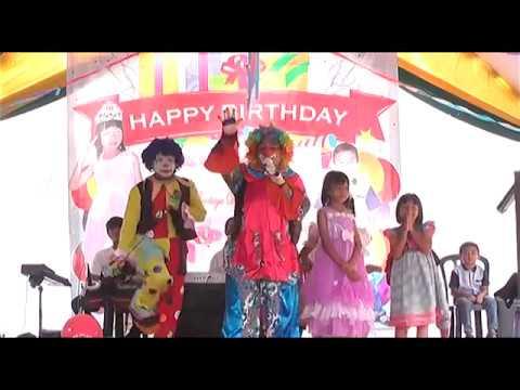 Funny Clown Videos For Kids With Clowns - BADUT LUCU Selamat Ulang Tahun UPIN IPIN