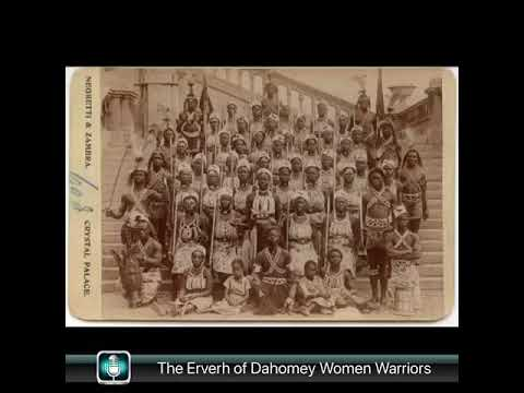 The Dora Milaje of Black Panther Inspired by The Erverh Kingdom of Dahomey Women Warriors