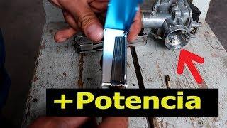 Modificar carburador de moto más potencia [Pt. 2]