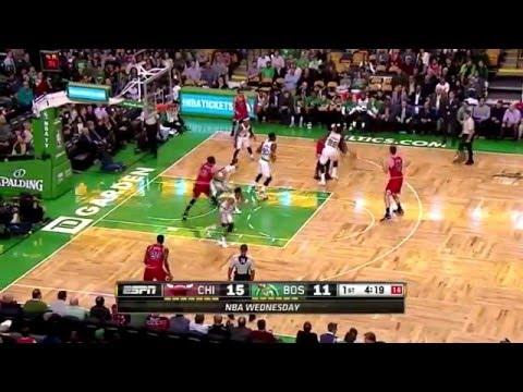 Boston Celtics Defensive Highlights Vs. Chicago Bulls (12/09/2015)