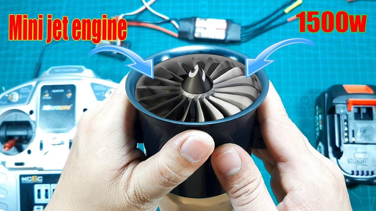 Sức Mạnh Khủng Khiếp Của Động Cơ Phản Lực Chuyên Chế Máy Bay NTN ? (Mini Jet Engine)