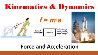 Kinematics (Part 9: Force and Acceleration Example)