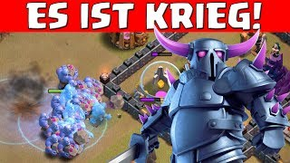 DAS IST KRIEG! || CLASH OF CLANS || Let's Play CoC [Deutsch German]