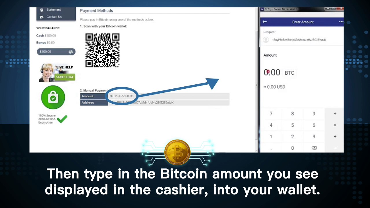 what is a bitcoin deposit