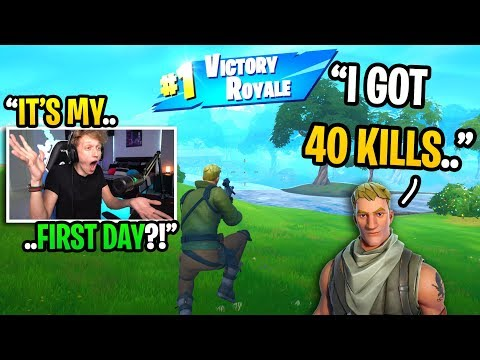 I Pretended To Be A FAKE NOOB And Got BACK TO BACK Wins In Fortnite... (amazing)