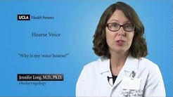Real Questions | Hoarse Voice | UCLA Head and Neck Surgery
