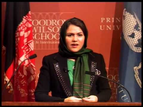 """Fawzia Koofi - """"Political Transition, the Role of Women, and Prospects for Peace in Afghanistan"""""""