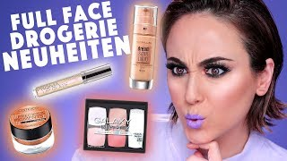 Full Face mit DROGERIE NEUHEITEN 🔥 | CATRICE, L.O.V, MAYBELLINE | First Impression | Hatice Schmidt