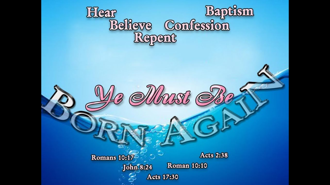How to get born again