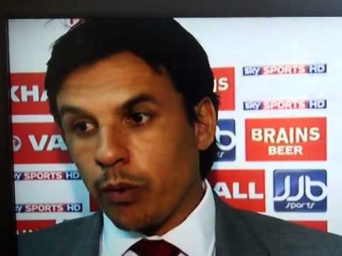 SkySports presenters laugh at Wales manager Chris Coleman