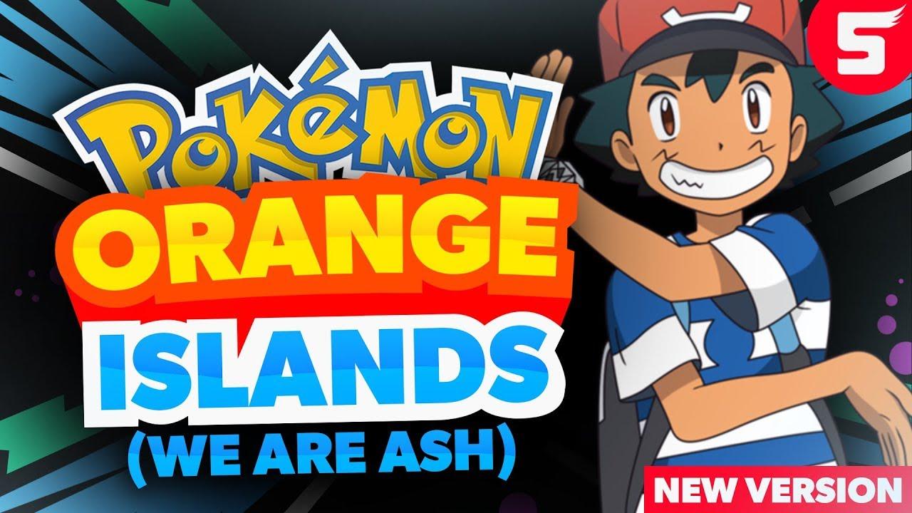 pokemon orange islands gba rom