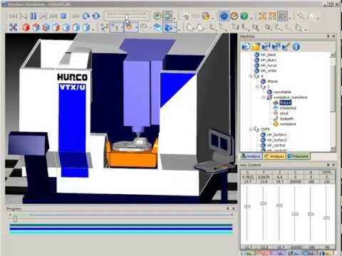 SURFCAM Tutorial - Machine Simulation: Simulation Options