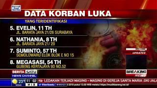 Video 12 Nama Korban Luka Ledakan Gereja di Surabaya download MP3, 3GP, MP4, WEBM, AVI, FLV Juli 2018
